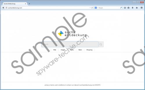 Sucheentdeckung.com Removal Guide