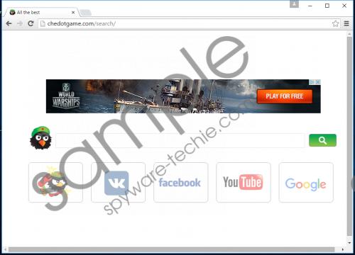 Search.chedot.com Removal Guide