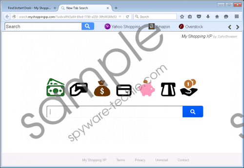 Search.myshoppingxp.com Removal Guide