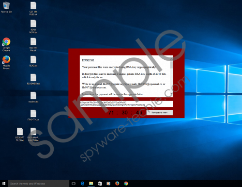 CryptoJoker Ransomware Removal Guide