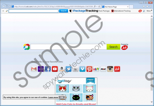 PackageTracking Toolbar Removal Guide