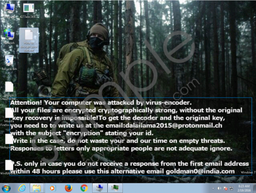 Crysis Ransomware Removal Guide