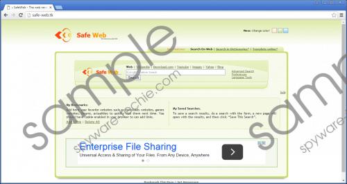 Safe-web.tk Removal Guide