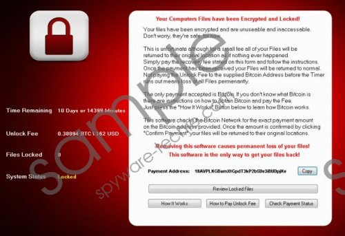CryptoHost Ransomware Removal Guide