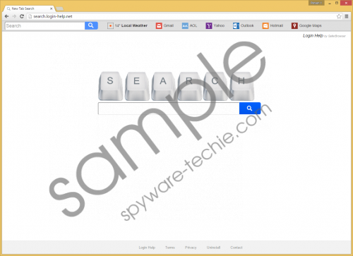 Search.login-help.net Removal Guide
