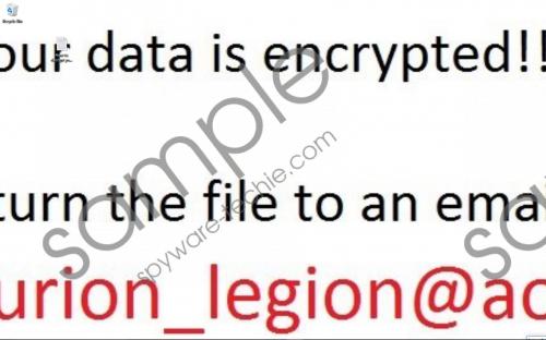Centurion_Legion Ransomware Removal Guide