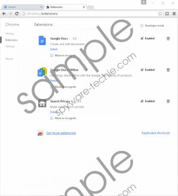 Search Privacy Removal Guide