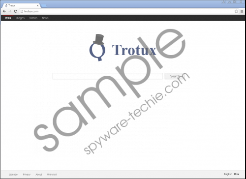 Trotux.com Removal Guide