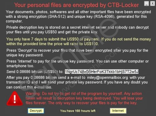 CTB-Faker Ransomware Removal Guide