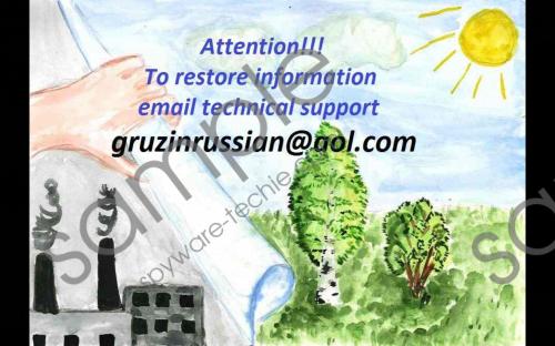 GruzinRussian@aol.com Ransomware Removal Guide