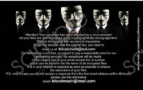 Bitcoinrush@imail.com Ransomware Removal Guide