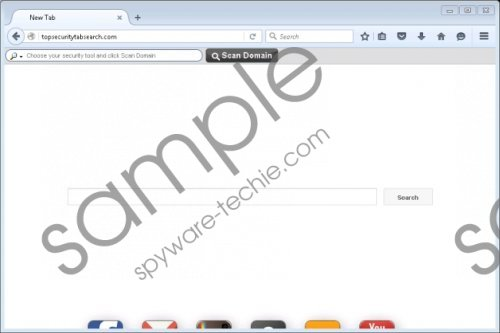 Topsecuritytabsearch.com Removal Guide