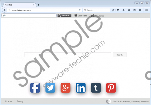 Topsocialtabsearch.com Removal Guide