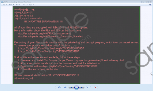Zepto Ransomware Removal Guide
