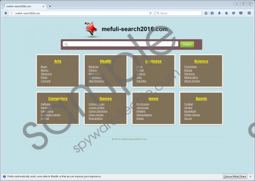 Mefuli-search2016.com Removal Guide