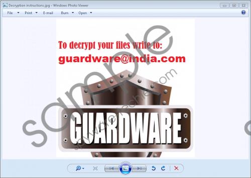 Guardware@india.com Ransomware Removal Guide