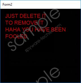 CIA Special Agent 767 Screen Locker Removal Guide