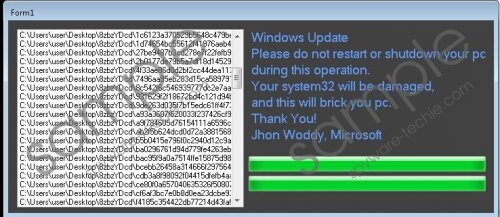 Jhon Woddy Ransomware Removal Guide