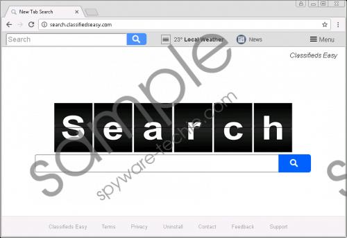 Search.classifiedseasy.com Removal Guide