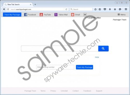 Search.searchpackaget.com Removal Guide