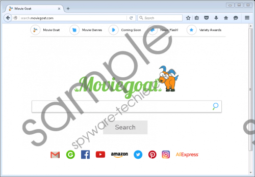 Search.moviegoat.com Removal Guide