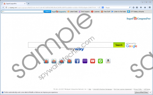 SuperCouponPro Toolbar Removal Guide