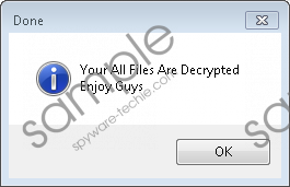 Haters Ransomware Removal Guide