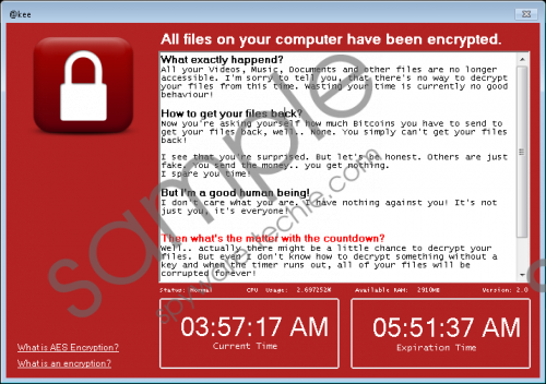 Kee Ransomware Removal Guide