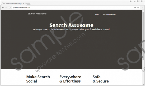 Search Awesome Removal Guide
