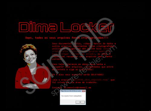 Dilmalocker Ransomware Removal Guide