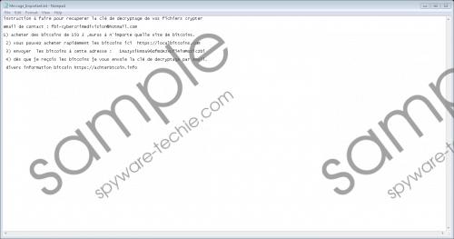 VideoBelle Ransomware Removal Guide