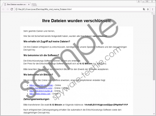 Hsdfsdcrypt Ransomware Removal Guide