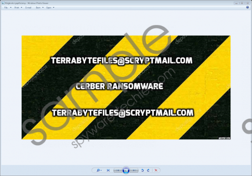 Cerbersyslock Ransomware Removal Guide