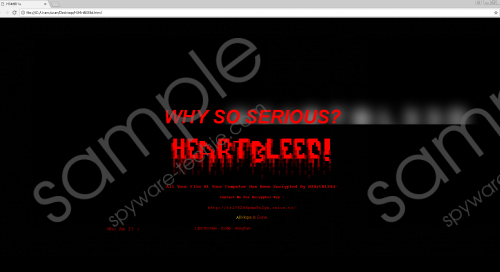 H34rtbl33d Ransomware Removal Guide