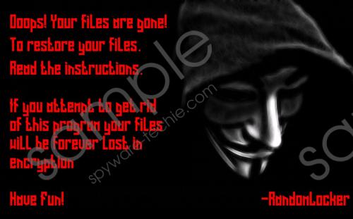 RandomLocker Ransomware Removal Guide