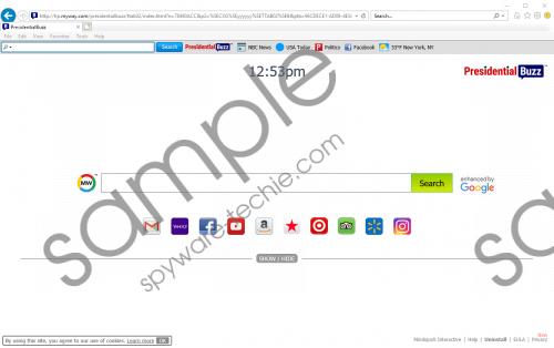 PresidentialBuzz Toolbar Removal Guide