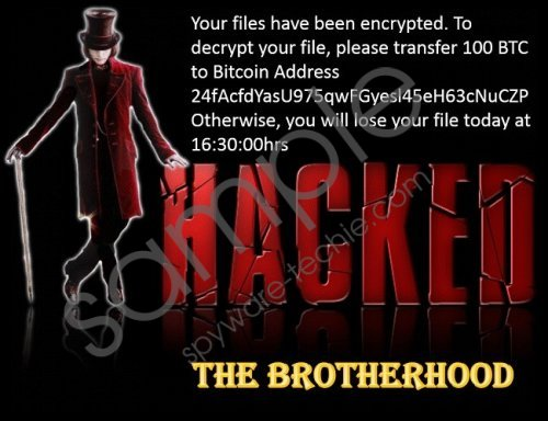 The Brotherhood Ransomware Removal Guide