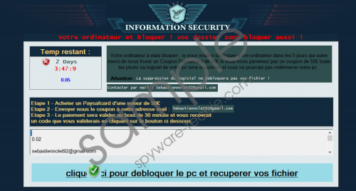 French MoWare H.F.D ransomware Removal Guide