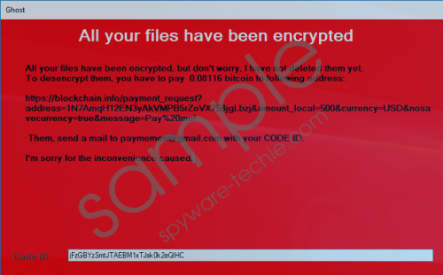 Ghost Ransomware Removal Guide
