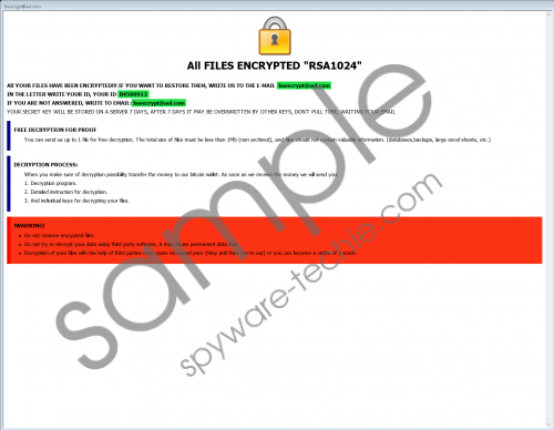 Basecrypt@aol.com Ransomware Removal Guide