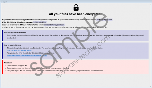 Dever Ransomware Removal Guide