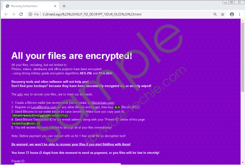 BitPyLock Ransomware Removal Guide