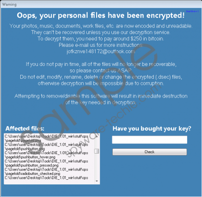 Dualshot Ransomware Removal Guide