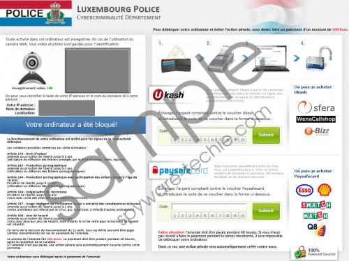 Office Central de Lutte contre la Criminalité virus Removal Guide