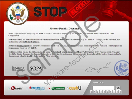 Master Penalty Document Virus Removal Guide