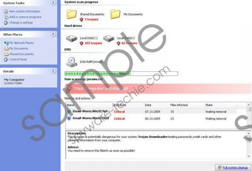 XP Micro Antivirus Online Scan Removal Guide