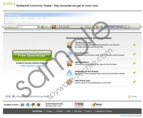 Brothersoft Toolbar Removal Guide