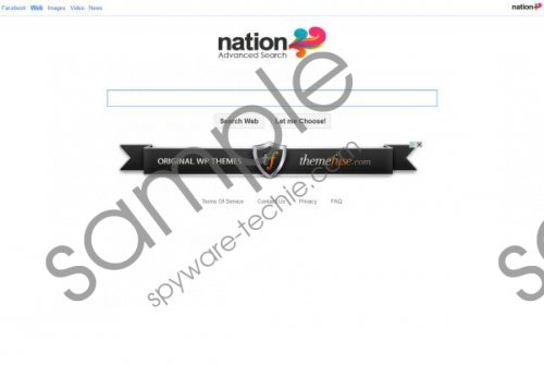 Nation Toolbar Removal Guide