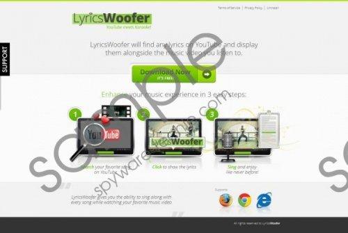 LyricsWoofer ads Removal Guide