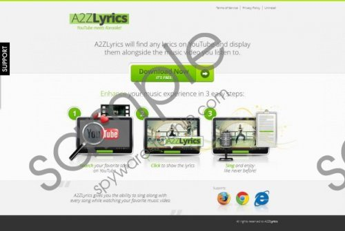A2ZLyrics Removal Guide